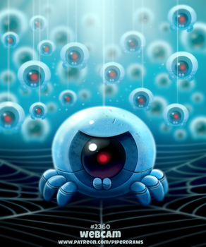 Daily Paint 2360. Webcam