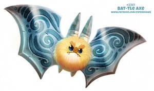 Daily Paint 2362. Bat-tle Axe