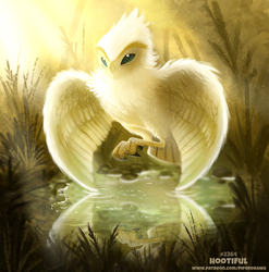 Daily Paint 2364. Hootiful