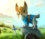 Daily Paint 2365. Lynx by Cryptid-Creations