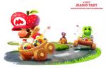 Daily Paint 2367. Mario Tart