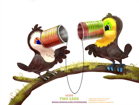 Daily Paint 2378. Two Cans