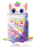 Daily Paint 2379. Toe Beans