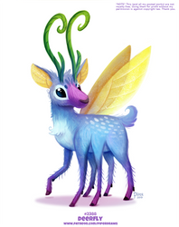 Daily Paint 2388. Deerfly by Cryptid-Creations