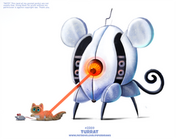 Daily Paint 2389. Turrat