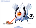 Daily Paint 2389. Turrat by Cryptid-Creations