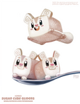 Daily Paint 2402. Sugar Cube Gliders
