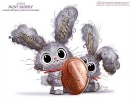 Daily Paint 2403. Dust Bunny