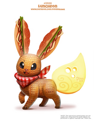Daily Paint 2408. Luncheon