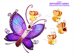 Daily Paint 2409. Butterfly Knife by Cryptid-Creations