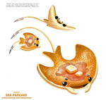 Daily Paint 2411. Sea Pancake by Cryptid-Creations