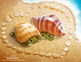 Daily Paint 2416. Seashell