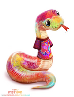 Daily Paint 2417. Dyethon