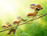 Daily Paint 2418. Antelope