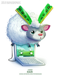 Daily Paint 2421. RAM by Cryptid-Creations