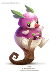 Daily Paint 2423. Kangaroot by Cryptid-Creations