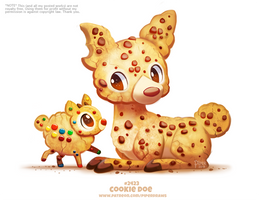 Daily Paint 2426. Cookie Doe