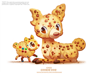 Daily Paint 2426. Cookie Doe by Cryptid-Creations