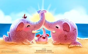 Daily Paint 2433. Elephant Seal