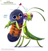 Daily Paint 2434. Cuddlebug