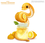 Daily Paint 2440. Freshly Squeezed