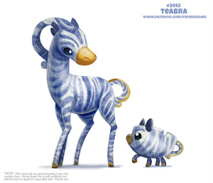 Daily Paint 2442. Teabra