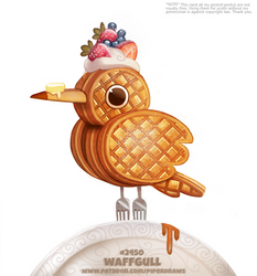 Daily Paint 2450. Waffgull