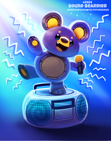 Daily Paint 2454. Sound Bearrier