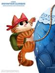 Daily Paint 2456. Meowtain Climber