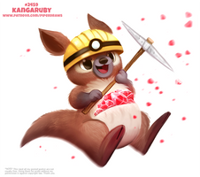 Daily Paint 2459. Kangaruby