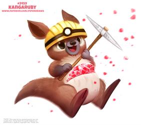 Daily Paint 2459. Kangaruby