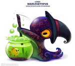 Daily Paint 2466. Warlocktopus