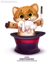 Daily Paint 2467. Cheetadah!