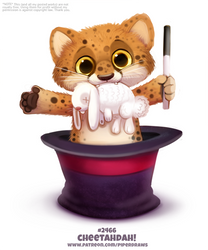 Daily Paint 2466. Cheetadah!