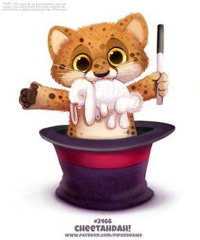 Daily Paint 2466. Cheetadah!