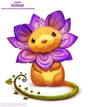 Daily Paint 2471. Florat
