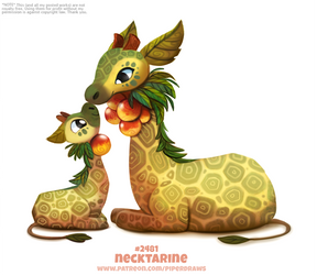 Daily Paint 2481. Necktarine