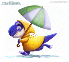 Daily Paint 2482. Tyrainosaurus