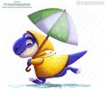 Daily Paint 2482. Tyrainosaurus