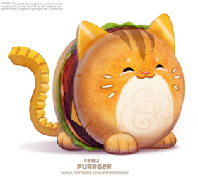 Daily Paint 2483. Purrger