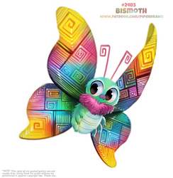 Daily Paint 2485. Bismoth