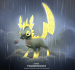 Daily Paint 2491. Thundercolt