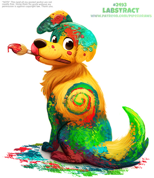Daily Paint 2493. Labstract by Cryptid-Creations