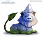 Daily Paint 2494. Mountain Lion