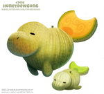 Daily Paint 2496. Honeydewgong
