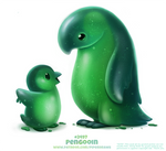 Daily Paint 2497. Pengooin