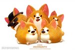 Daily Paint 2501. Incorgnito
