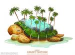 Daily Paint 2502. Desert Tortoise
