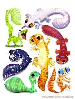 #2507. Leopard Gecko - Designs