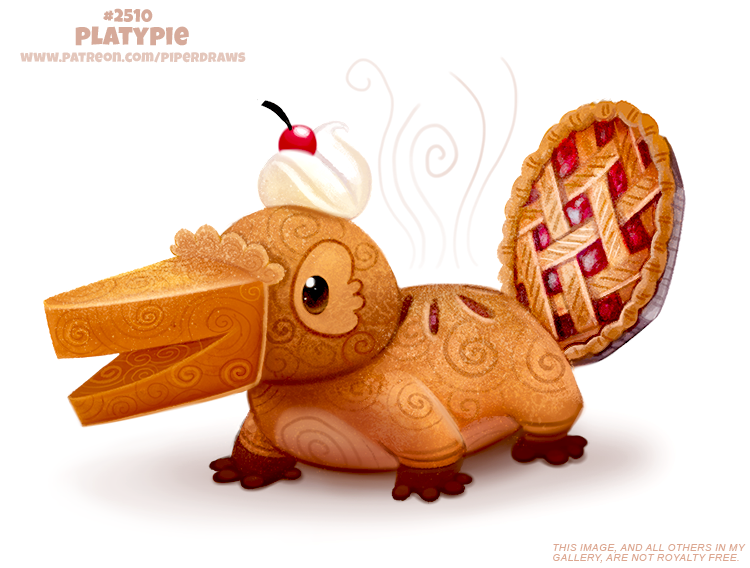 Daily Paint 2510. Platypie